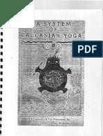 Count Stefan Colonna Walewski - A System of Caucasian Yoga