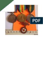 John Wynne WW 1 medals