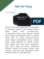 Media Filter Air Yang Bagusfdadf