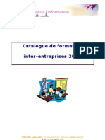 Catalogue de Formation Inter-Entreprises 2010
