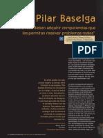 Entrevista Pilar Baselga