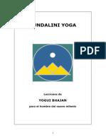 Kundalini Yoga Lecciones