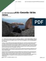 Le démantèlement du «Concordia» fait des remous - Libération
