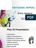 Advertising Appeal Final Ppt
