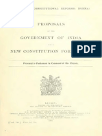 Proposal for New Constitution Burma-India