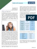 TOEFL Info Sheet