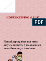 A Housekeeping and 5s