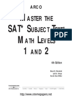 Master the SAT Subject Test-Math Level 1 and 2 (1)