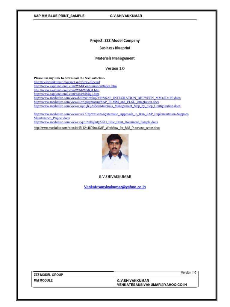 Sap mm business blue printsample inventory invoice flashek Gallery