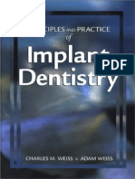 Principles and Practice of Implant Dentistry