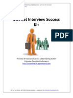 DotNet Interview Success Kit
