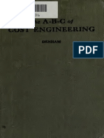 ABC of Cost Engineering