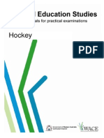 Hockey Practical Exam Support Booklet PDF
