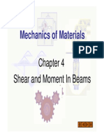 Chapter+4+Shear+and+Moment+In+Beams