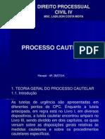 Aula 1 - Procedimento Cautelar Pp