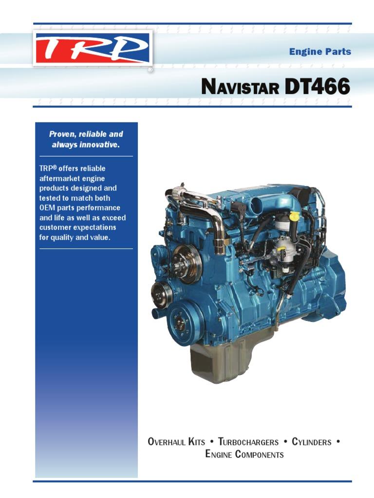 Navistar DT466 Engine Catalog | Cylinder (Engine) | Fuel