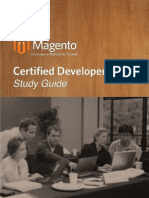Magento Developer Certification Study Guide MCD v2.2
