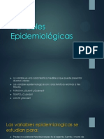 Variables Epidemiologicas Chida