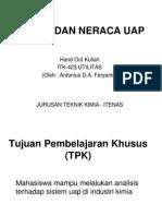 Hand Out UTILITAS - Sistem Neraca Uap