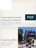 Comunicacion Espacio Público