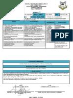 Formato de Planeación de Español - José España Cruz