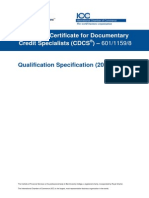 CDCS Qualification Specification 2013-14 - FINAL v2