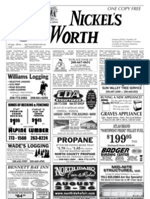 Nickel's Worth Classifieds | Nature
