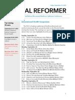 NorCal Reformer 46 (September 19, 2014)