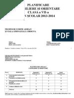Planificare Dirigentie Cl.7 20132014