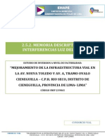 2.5.2. Memoria Descriptiva – Interferencias Luz Del Sur