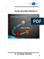 20968435 State Bank of India Project Financing