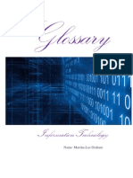 Glossary- Information Technology