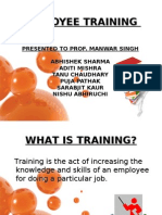 TRAINING & DEVELOPENT