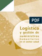 Logística y Gestion de Recursos Humanitarios en El Sector Salud - OPS, OMS