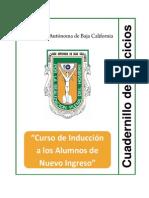 Cuadernillo Ejercicios Curso Induccion