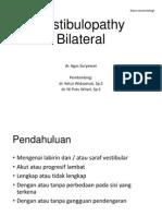 Vestibulopathy Bilateral share.pptx