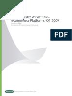 ForresterWave ECommerce Platforms 2009