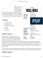 Kill Bill - Wikipedia, The Free Encyclopedia