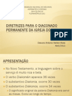 1. Diretrizes Para o Diaconado Permanente Floripa