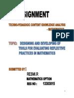 Tools of Evaluation Pra Pedgogy.