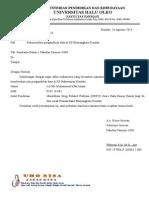 Surat Pengantar Ipank