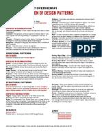 Design-Patterns Cheat Sheet