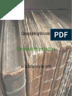 Bibliografia Conservacion Preventiva Biblioteca Iaph