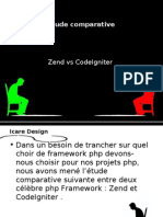 Zend vs  CodeIgneter quel php framework choisir