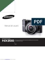 Samsung NX200 Esp.