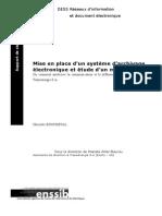 867 Mise en Place d Un Systeme d Archivage Electronique Et Etude d Un Modele de Ged