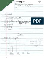 Statistics Assignment 1