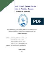 Infección Del Tracto Urinario Como Factor de Riesgo Para Aborto en El Hospital Belén Minsa Trujillo-perú, 2014