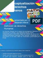 Definicion de Derechos Humanos