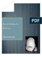 Door & Window for Buildings Notes for AL Tech by Hafeel Sir